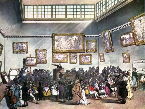 Ch's Auction 1808Microcosm_of_London_Plate_006_-_Auction_Room,_Christie's_(colour)