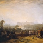 Ploughing Up Turnips, near Slough ('Windsor') exhibited 1809 by Joseph Mallord William Turner 1775-1851