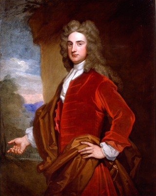 Sir John Rushout 1684 to 1775 Kneller