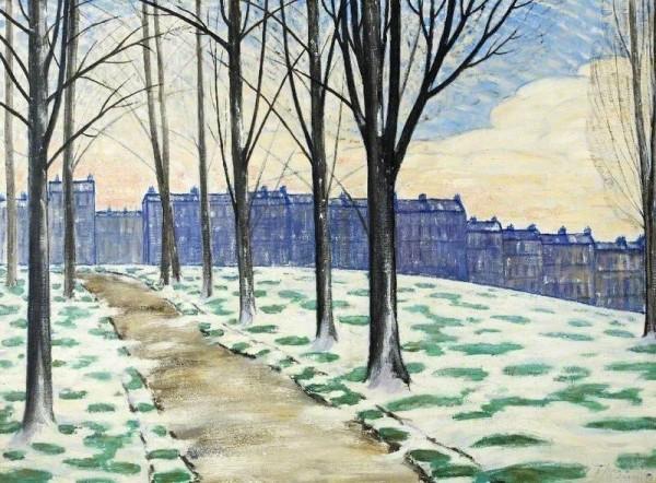 Thornton, Alfred Henry Robinson; Melting Snow; Cheltenham Art Gallery & Museum; http://www.artuk.org/artworks/melting-snow-62067
