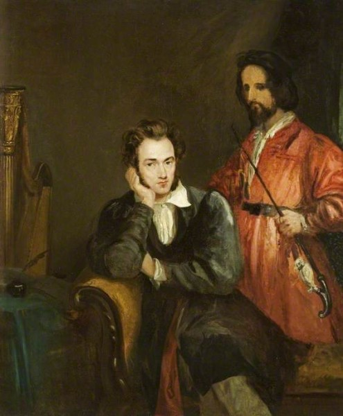 von Holst, Theodor Matthias; Gustav von Holst and His Brother, Theodore; Cheltenham Art Gallery & Museum; http://www.artuk.org/artworks/gustav-von-holst-and-his-brother-theodore-61850