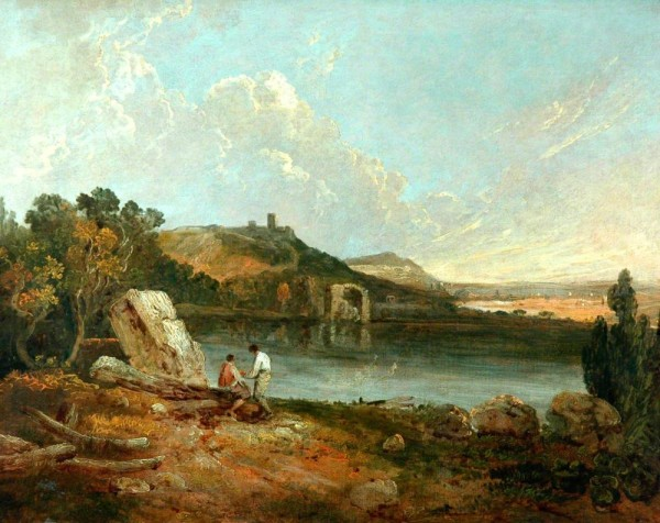 Wilson, Richard; Italian Lake Scene; Bradford Museums and Galleries; http://www.artuk.org/artworks/italian-lake-scene-23637