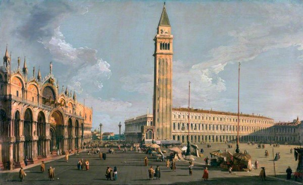 Canaletto; The Piazza di San Marco, Venice; Sir John Soane's Museum; http://www.artuk.org/artworks/the-piazza-di-san-marco-venice-123954