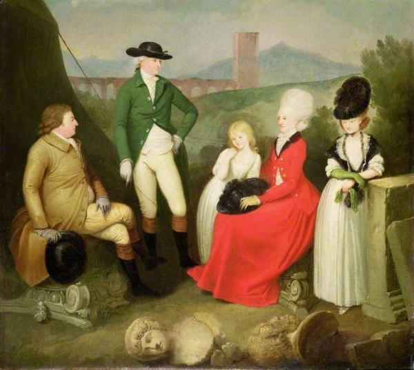 Smuglewicz, Franciszek; A Family Group of the 5th Duke of St Albans; Cheltenham Art Gallery & Museum; http://www.artuk.org/artworks/a-family-group-of-the-5th-duke-of-st-albans-62041