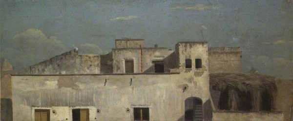 Jones, Thomas; Rooftops in Naples; The Ashmolean Museum of Art and Archaeology; http://www.artuk.org/artworks/rooftops-in-naples-142210