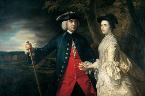 Reynolds, Joshua; John, 2nd Earl of Egmont and His Second Wife Catherine; Bradford Museums and Galleries; http://www.artuk.org/artworks/john-2nd-earl-of-egmont-and-his-second-wife-catherine-23029