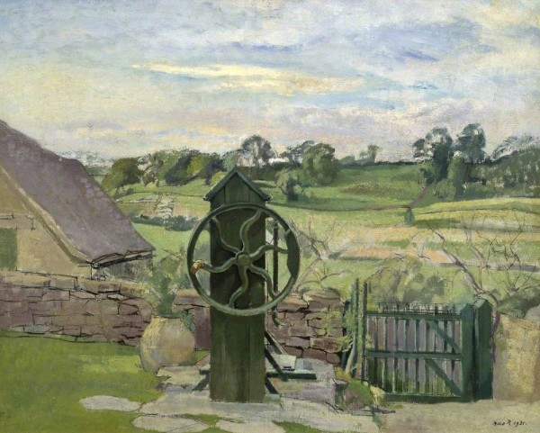 Rutherston, Albert; The Pump, Nash End; Tate; http://www.artuk.org/artworks/the-pump-nash-end-201630